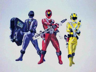kids Power-Ranger