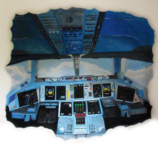 kinderzimmer - fars-art | lars laskowski - Kinderzimmer Flugzeug